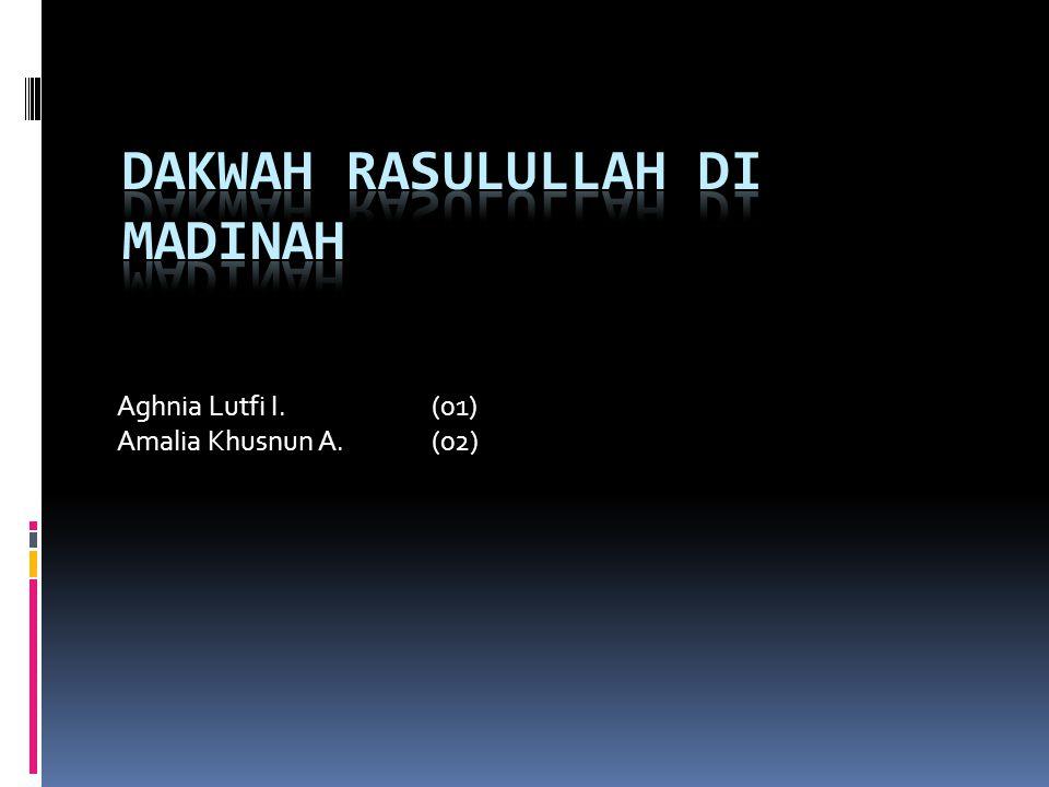 Dakwah Rasulullah di Madinah