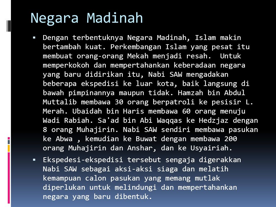 Negara Madinah