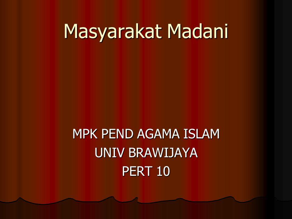 MPK PEND AGAMA ISLAM UNIV BRAWIJAYA PERT 10