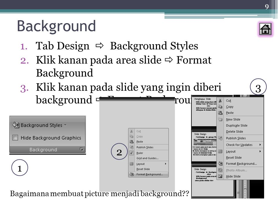 Background Tab Design  Background Styles