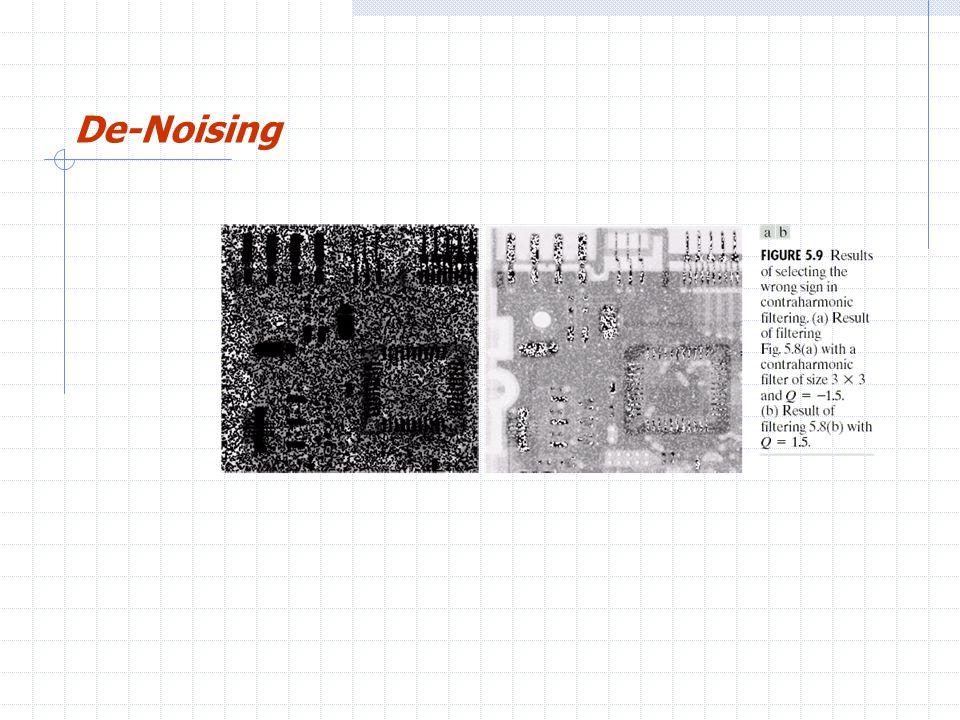 De-Noising