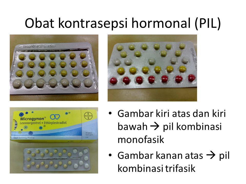 Obat kontrasepsi hormonal (PIL)