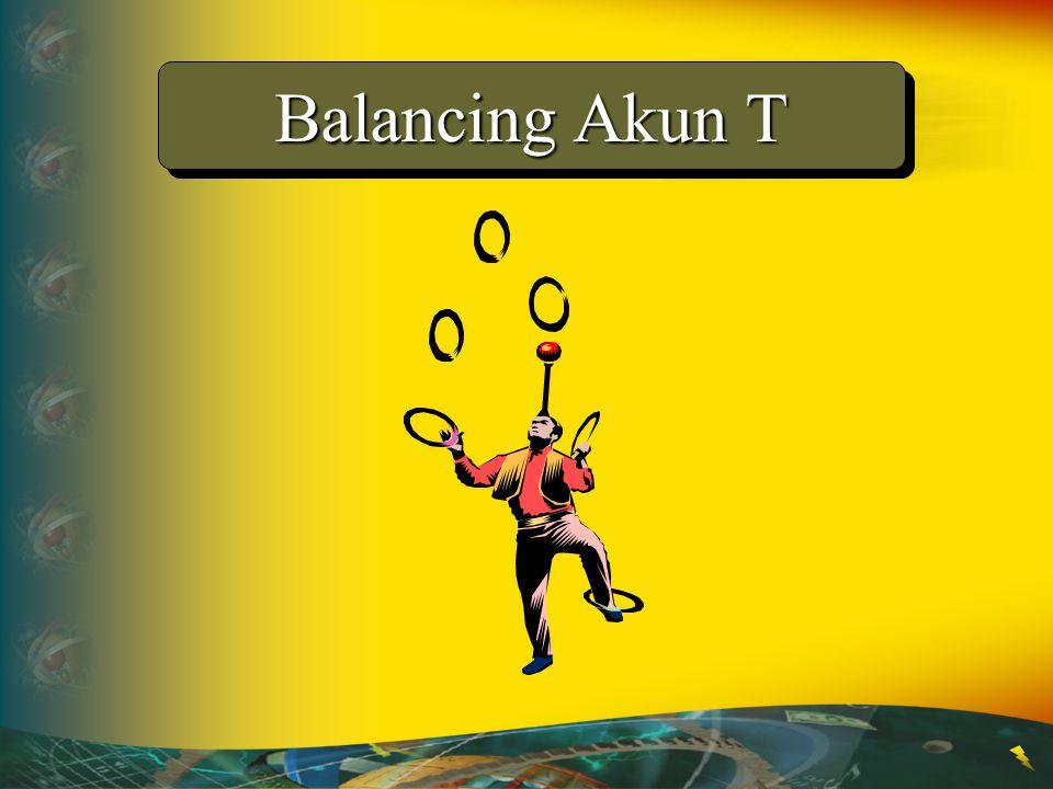 Balancing Akun T