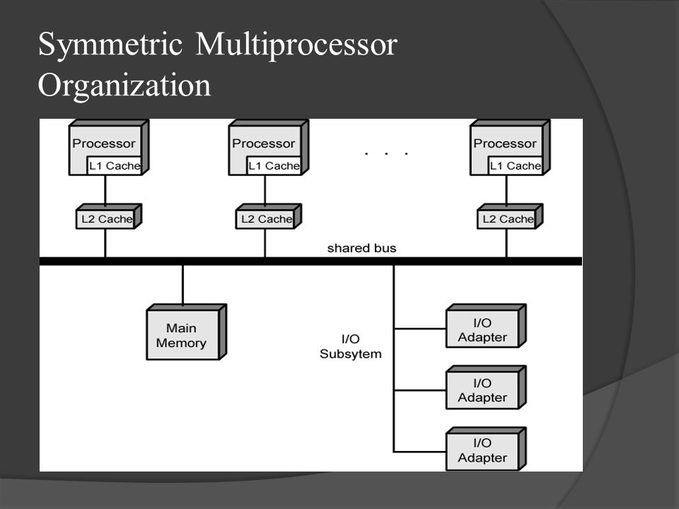 Symmetric Multiprocessor Organization