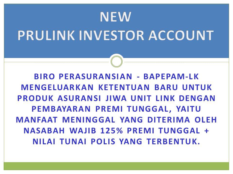 PRULINK INVESTOR ACCOUNT