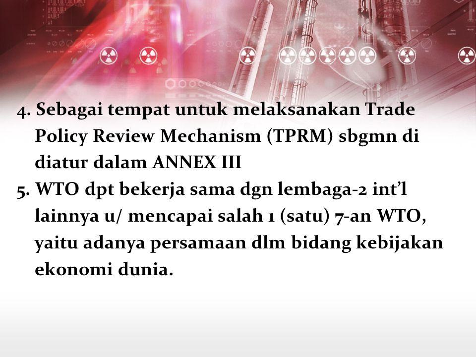 4. Sebagai tempat untuk melaksanakan Trade