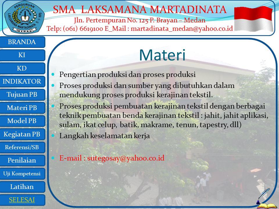 Materi Pengertian produksi dan proses produksi