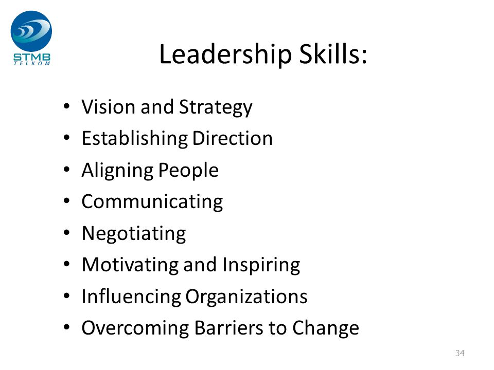 Leadership Skills: Vision and Strategy Establishing Direction