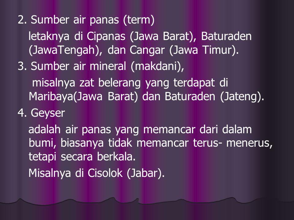 2. Sumber air panas (term)
