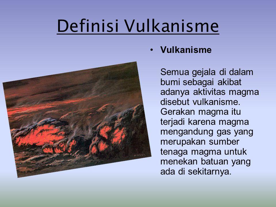 Definisi Vulkanisme Vulkanisme