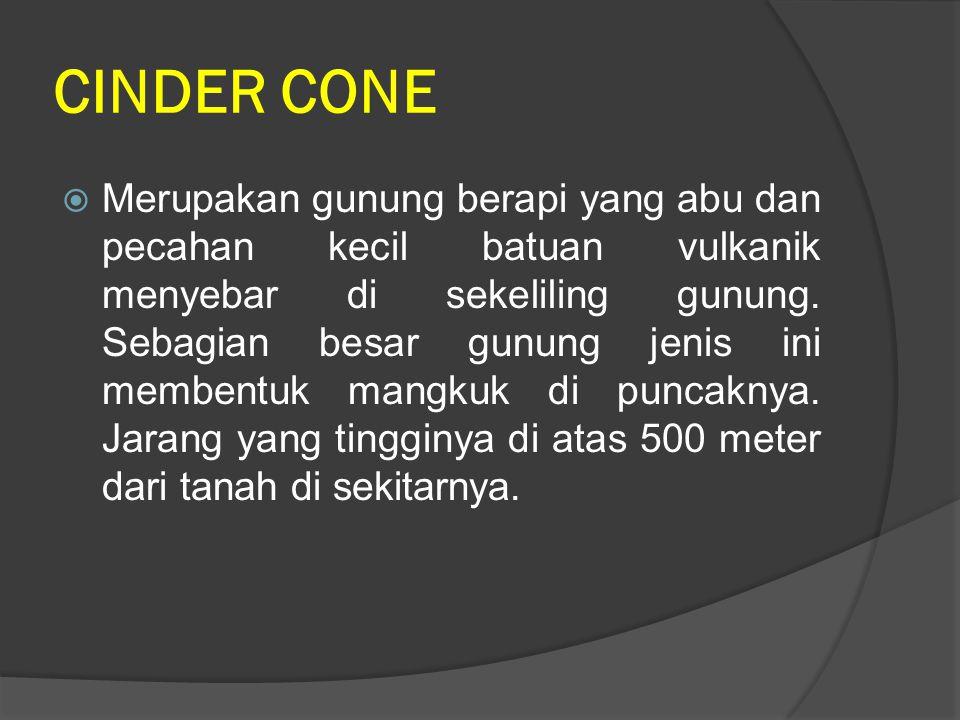 CINDER CONE
