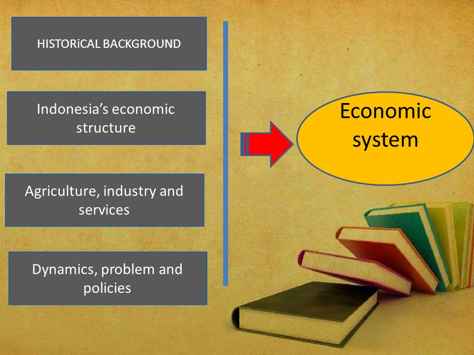 Economic system Indonesia's economic structure
