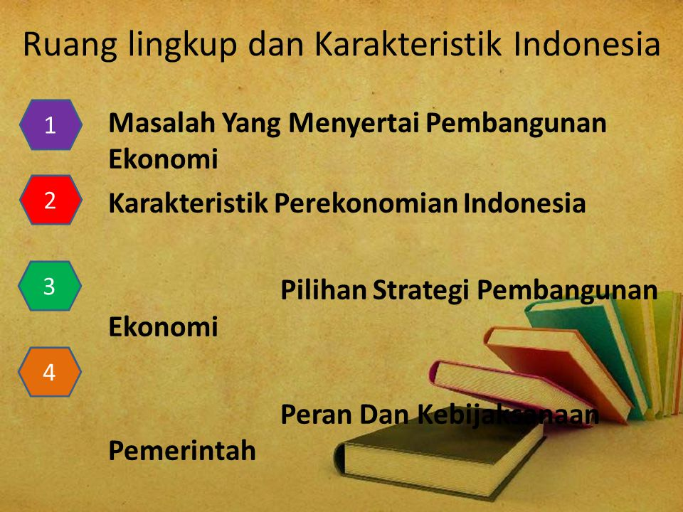 Ruang lingkup dan Karakteristik Indonesia