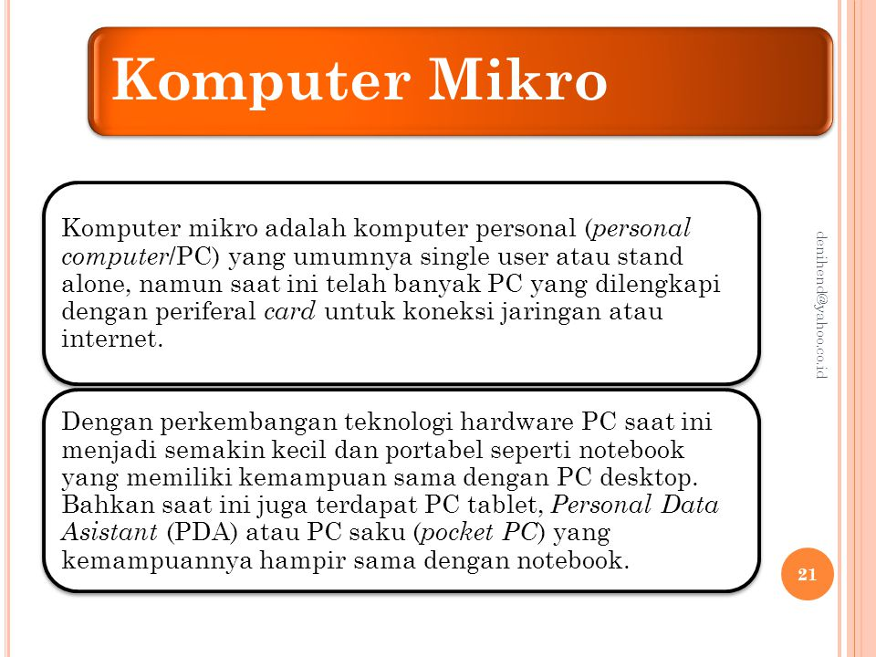 Komputer Mikro