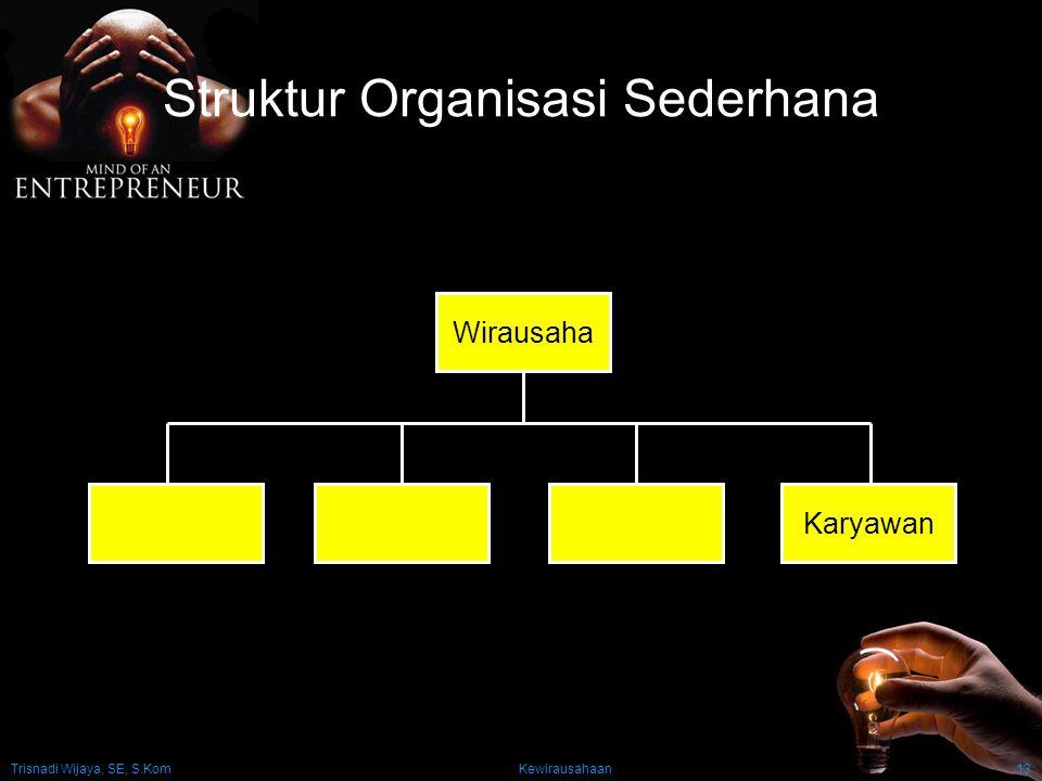 Struktur Organisasi Sederhana