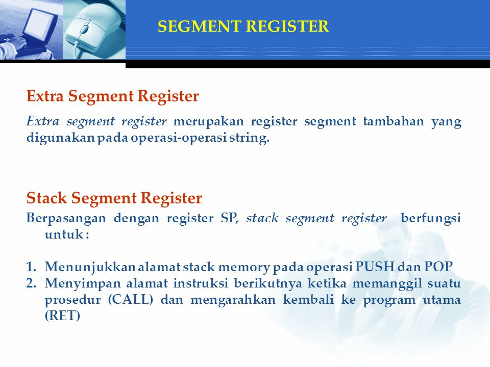Extra Segment Register