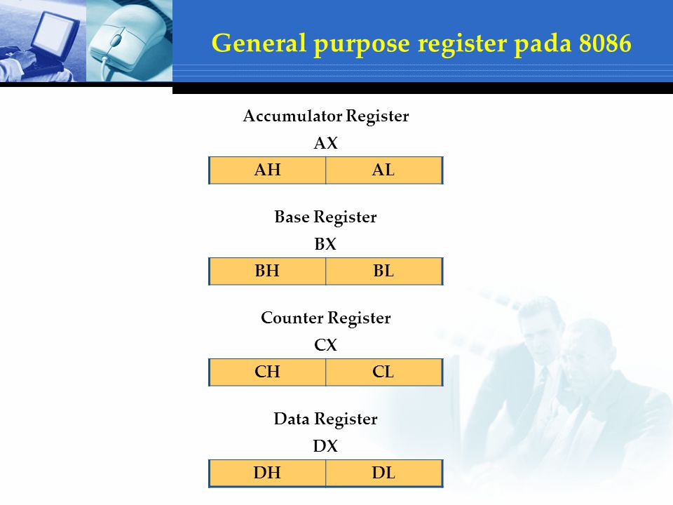 General purpose register pada 8086