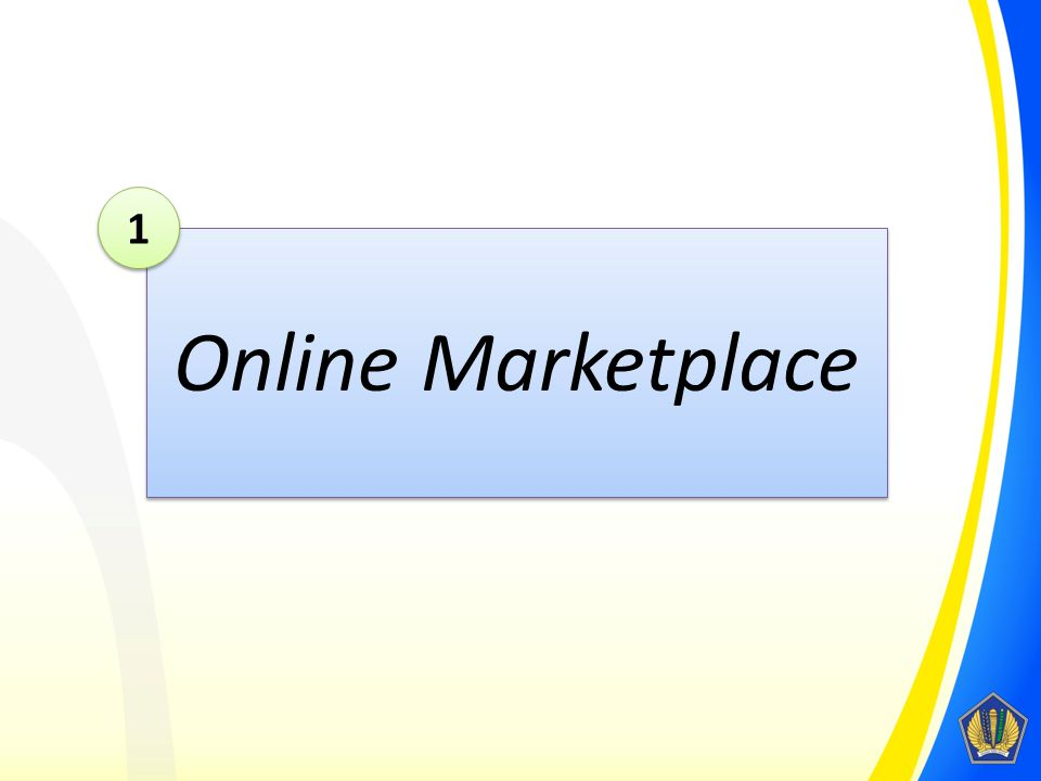 1 Online Marketplace