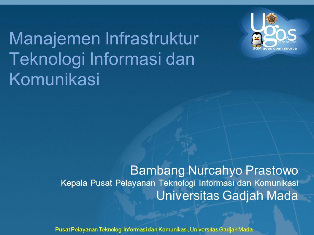 Manajemen Infrastruktur Teknologi Informasi dan Komunikasi