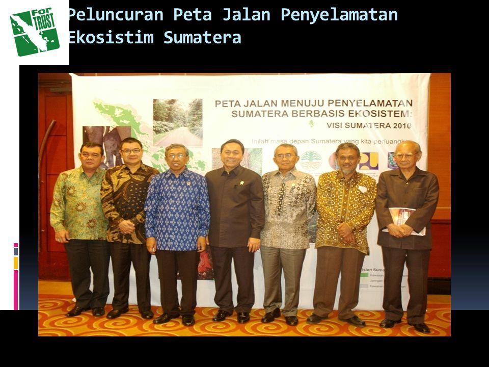 Peluncuran Peta Jalan Penyelamatan Ekosistim Sumatera