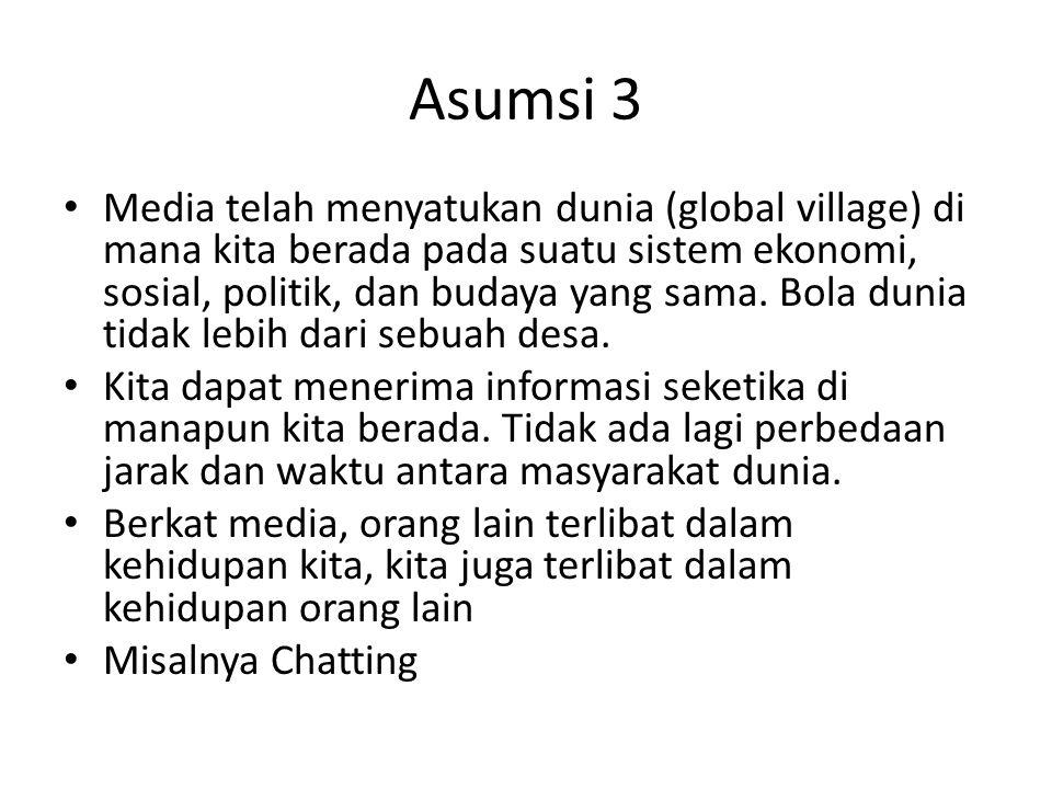 Asumsi 3