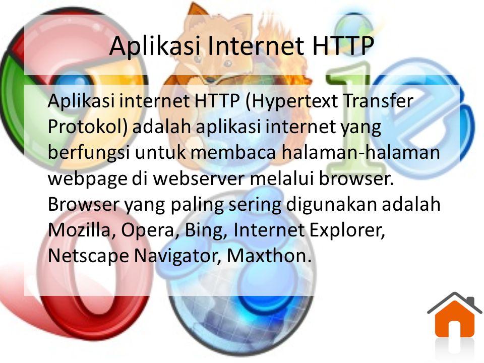 Aplikasi Internet HTTP