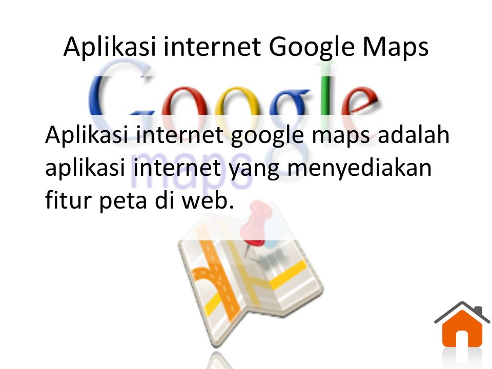 Aplikasi internet Google Maps