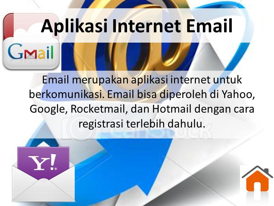 Aplikasi Internet Email