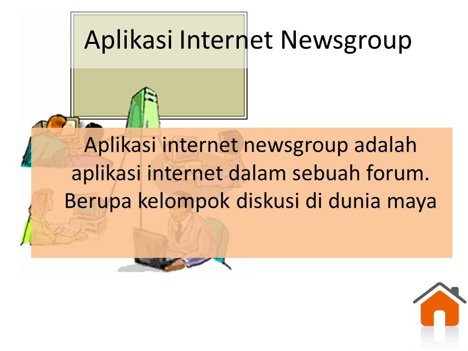 Aplikasi Internet Newsgroup
