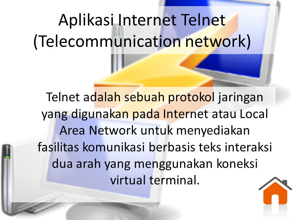 Aplikasi Internet Telnet (Telecommunication network)