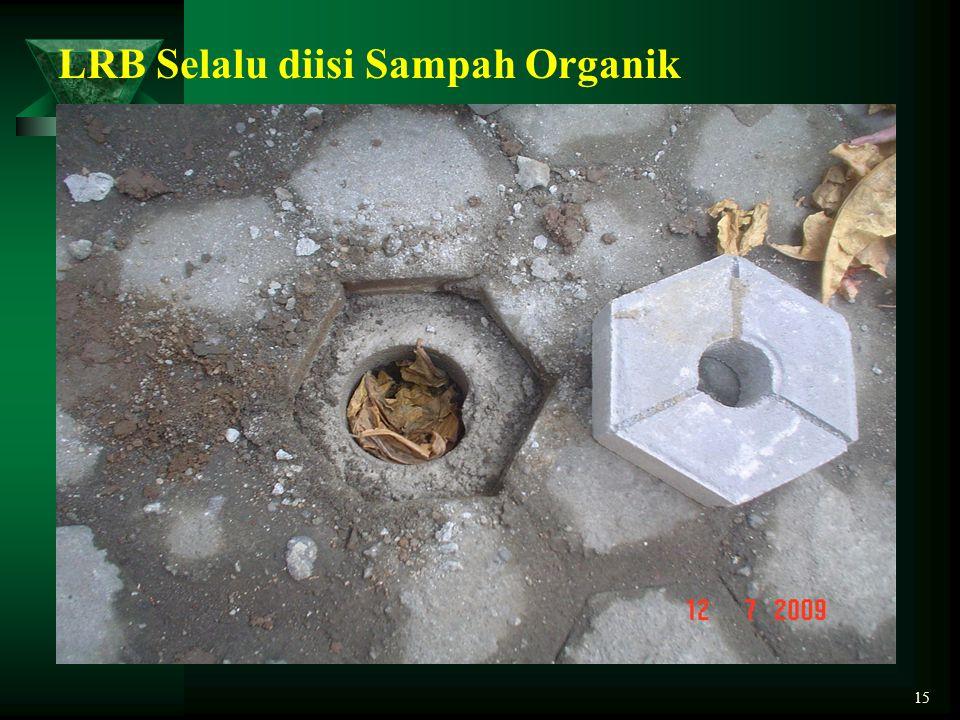 LRB Selalu diisi Sampah Organik