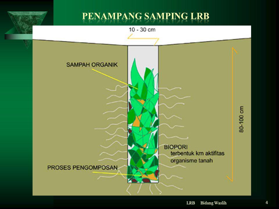 PENAMPANG SAMPING LRB LRB Bidang Waslih