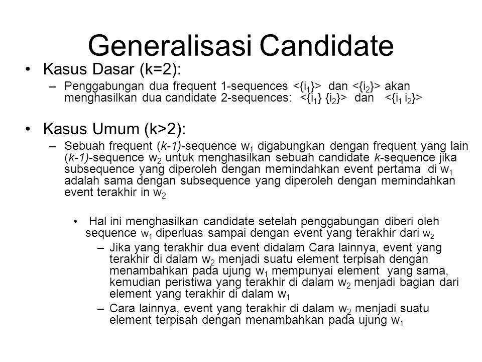 Generalisasi Candidate
