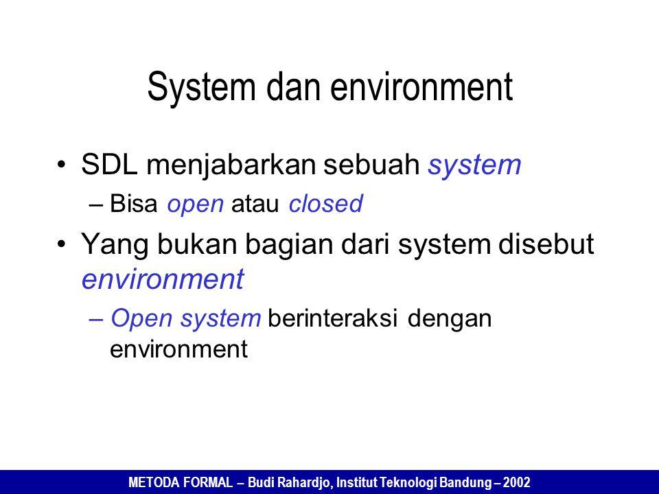 System dan environment