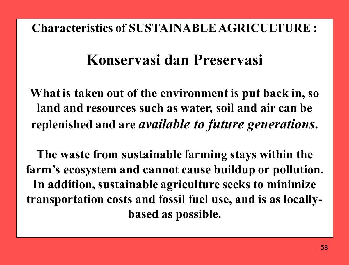Konservasi dan Preservasi