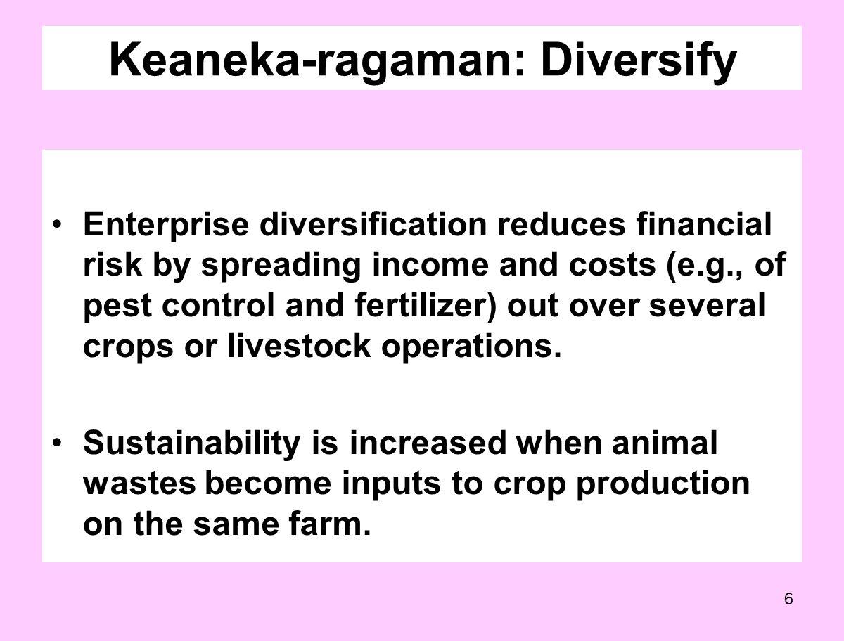 Keaneka-ragaman: Diversify
