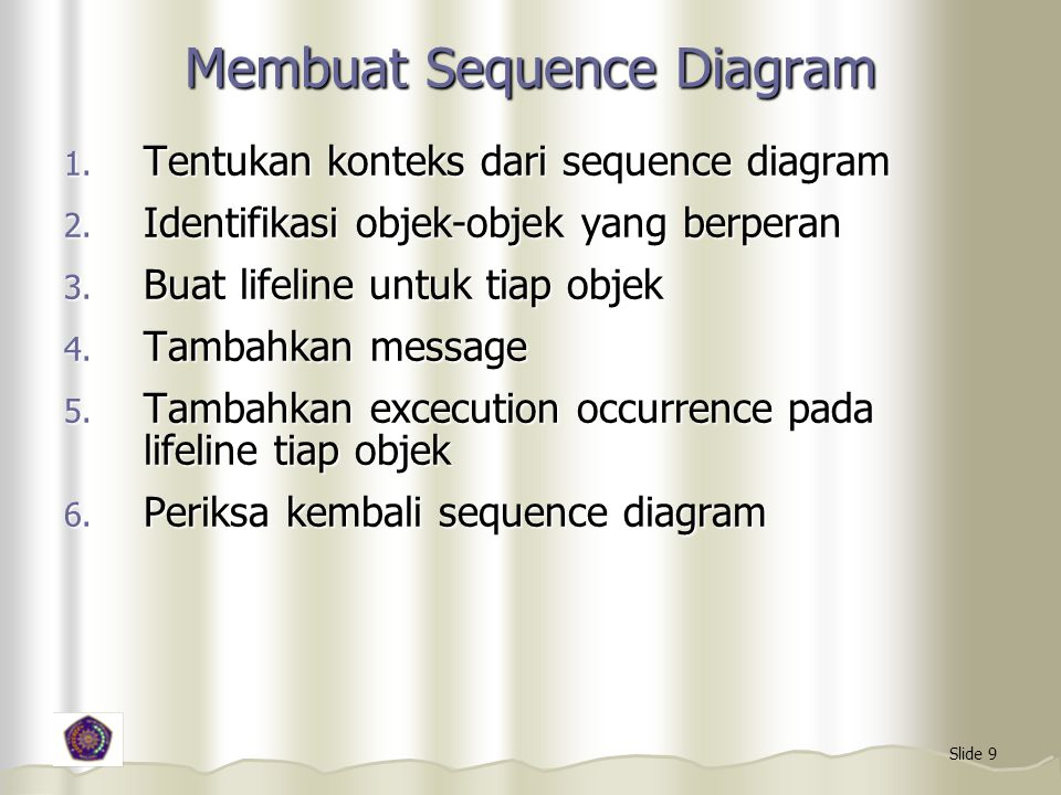 Membuat Sequence Diagram