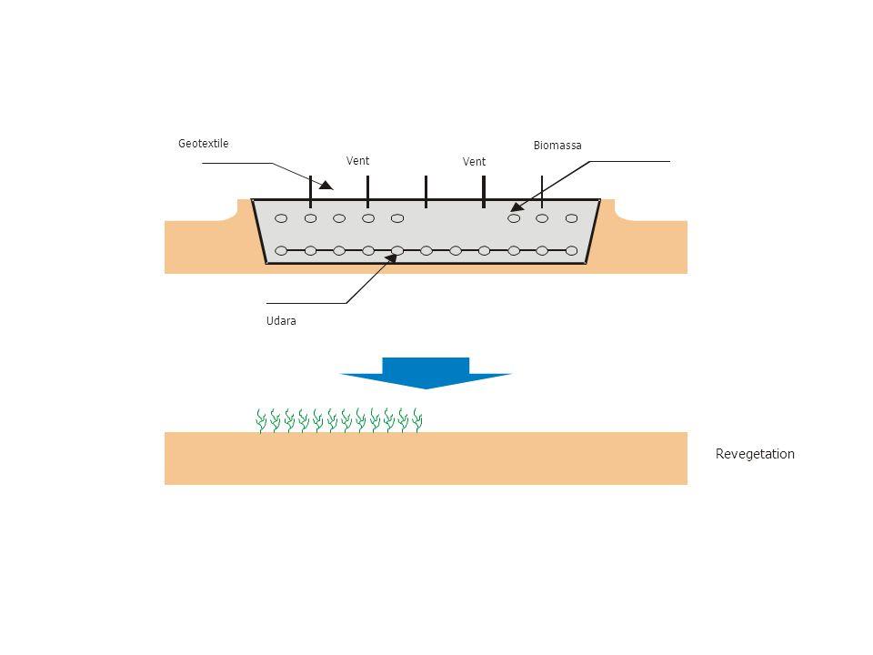 Geotextile Revegetation Udara Biomassa Vent