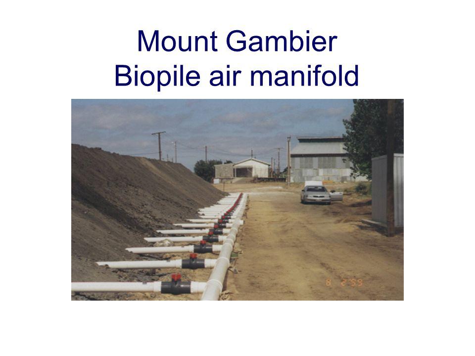 Mount Gambier Biopile air manifold