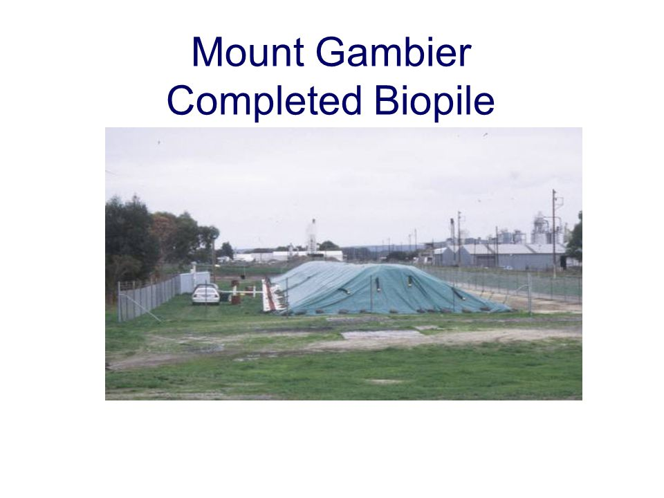 Mount Gambier Completed Biopile