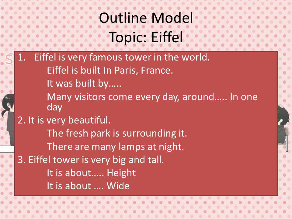 Outline Model Topic: Eiffel
