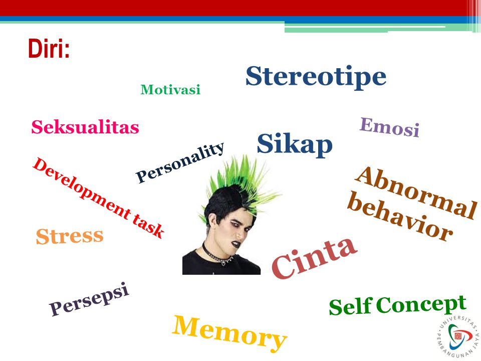 Cinta Diri: Stereotipe Sikap Memory Abnormal behavior Stress