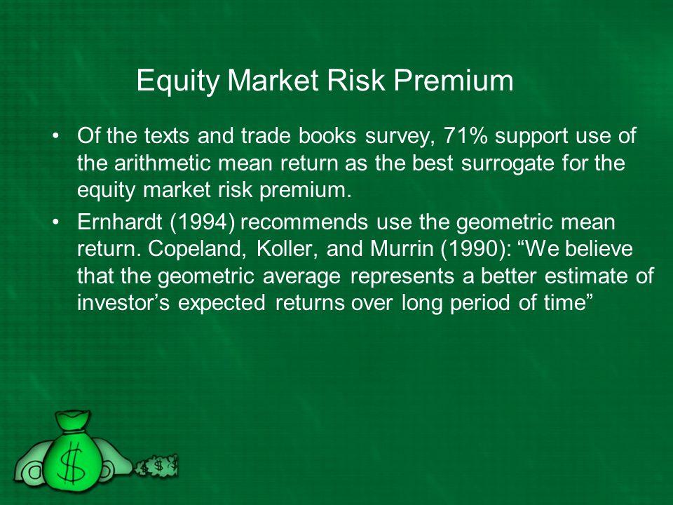 Equity Market Risk Premium