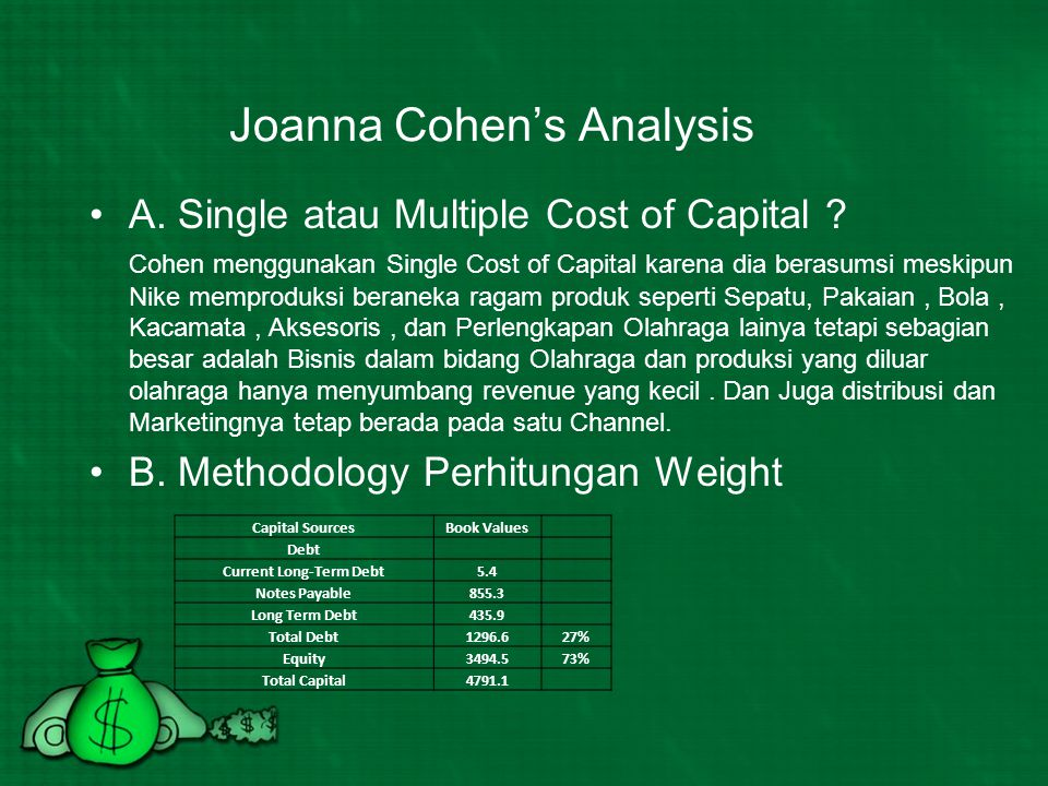 Joanna Cohen's Analysis