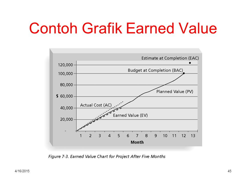 Contoh Grafik Earned Value
