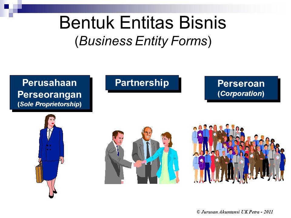 Bentuk Entitas Bisnis (Business Entity Forms)
