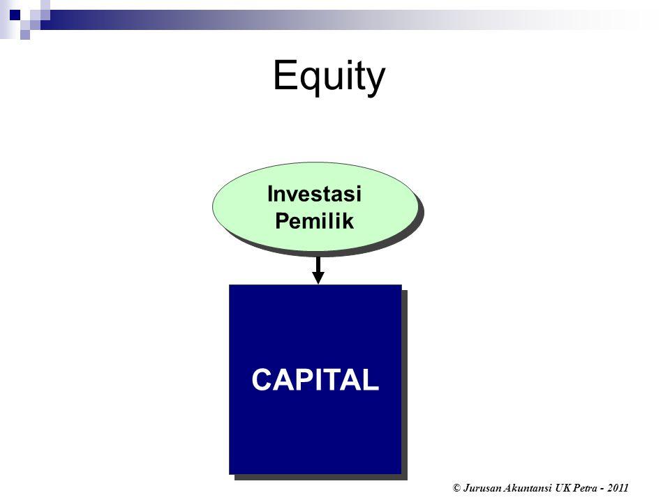 Equity CAPITAL Investasi Pemilik