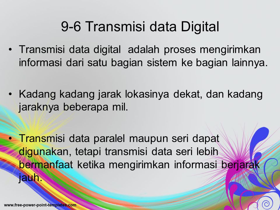 9-6 Transmisi data Digital