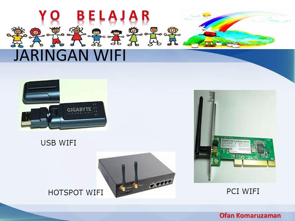 JARINGAN WIFI USB WIFI HOTSPOT WIFI PCI WIFI