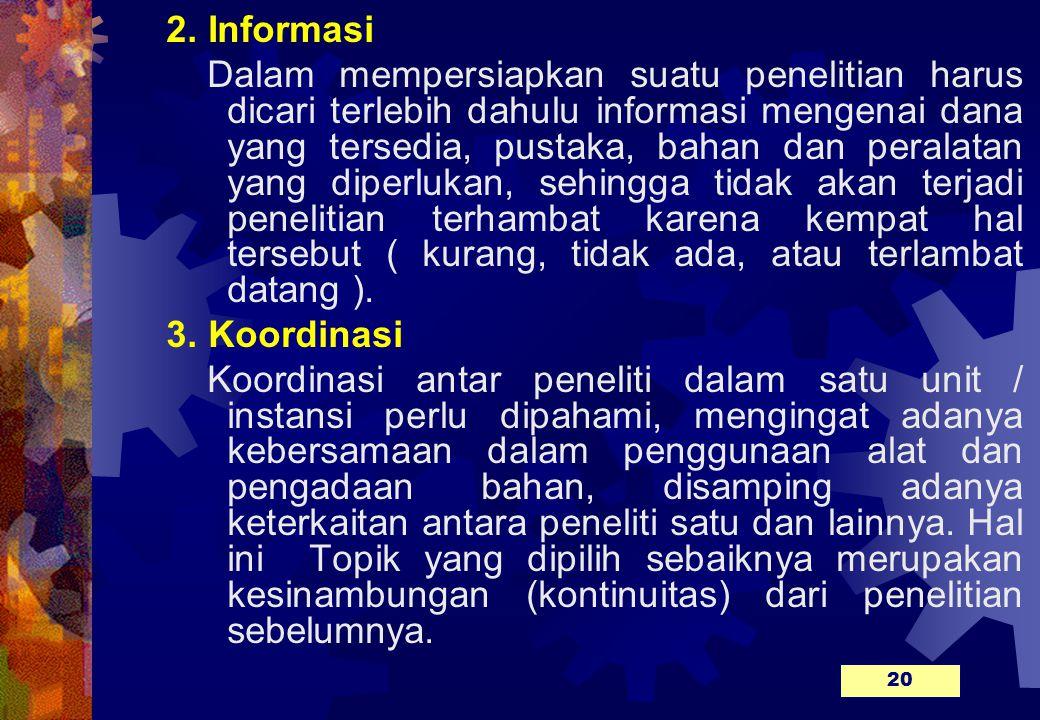 2. Informasi